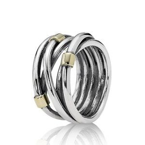 Pandora Intertwined Ring